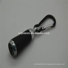 Mini lanterna elétrica conduzida, mini lanterna conduzida, luz conduzida da mão