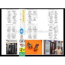 China made high quality aluminum-wood window&door profiles