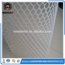 white HIgh quality HDPE Plastic flat wire mesh