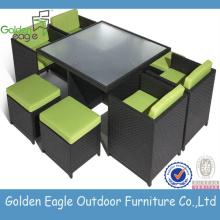 Home Rattan Garden Furniture 6 Chairs