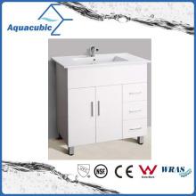 Hot Sell Australia Style White Painted Bathroom Furniture (AC-8090B)