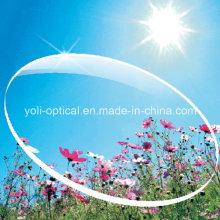 Lente acrílica de 75 mm Sp 1.60 Hmc UV400 com EMI