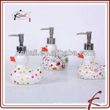 Dispensador de la loción de la porcelana durable colorido popular con la bomba
