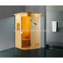 K-718 Vente chaude salle de sauna à vapeur sèche, salle de vapeur intérieure / extérieure, sauna et salle combinée de vapeur