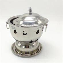 Stainless Steel  Buffet Food Warmer Table Top /  Roll Top Chafing Dish for Sale
