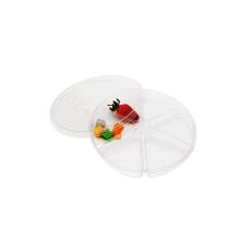 Bandeja para embalagem em blister com 6 compartimentos de nozes para sushi