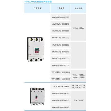 Cm1 Serie Gehäuseschutzschalter / MCCB