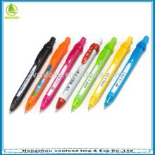 Promotional plastic scrolling message pen
