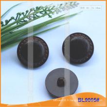 Imiter bouton en cuir BL9005