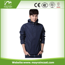 Moda Novo Estilo Casual PVC Outdoor Jacket