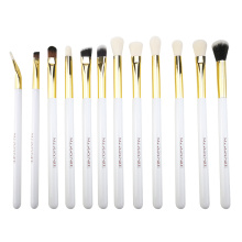 12PC Set Makeup Profesional Kuas Mata