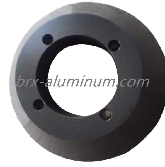 Hard Anodized Forged Aluminum Alloy part