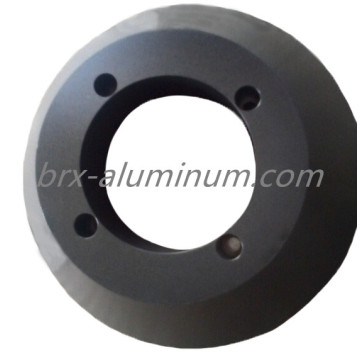 Forged Hard Anodized Aluminum Alloy Part