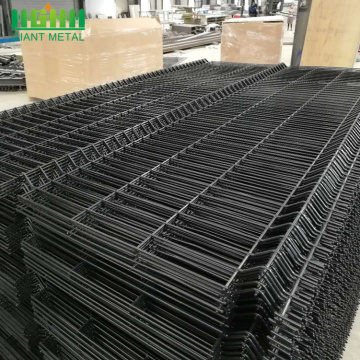 3D Welded Triangle Lentung Curvy Wire Mesh Pagar