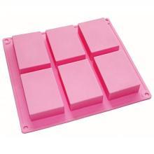 Jabón a granel barra de silicona moldes de moldes