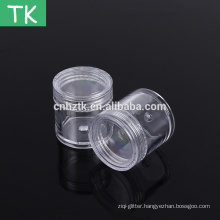 7g10g15g20g25g30g Plastic Jar for the packing of Nail Glitter powder
