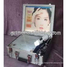 Dispositivo portable del analizador de la piel para el salón