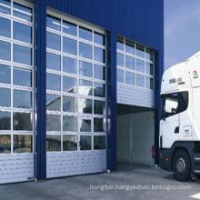 Transparent Sectional Acrylic Garage Door