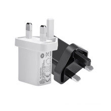 CE certificate small casing 1 port usb wall charger uk plug 5v 1a 2a 2.1a 2.4a