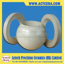 99/99,5 % Al2O3/alumine céramique robinets à boisseau sphérique et sièges