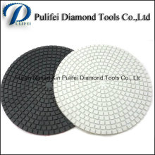 4′′ 5′′ 6′′ 8′′ 200mm Diamond Flexible Wet Polishing Pad Stone Finishing