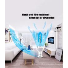 Preço de fábrica de Alta Eficiência Controle Remoto 18 '' LED Ventilador Elétrico sem lâminas