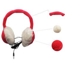 Auscultadores quentes feitos malha do estilo de Earmuff do auriculares
