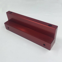 Red Anodized Aluminum Parts