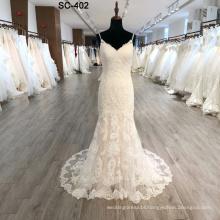2019 new fashion mermaid with detachable train bridal gowns wedding dress
