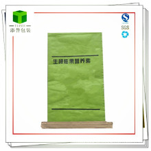 Bolsa de papel de costura inferior personalizada para nutrientes