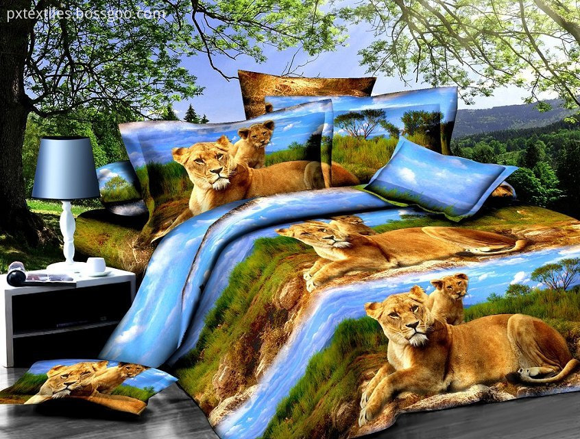 Polyester Printed Bedding Fabric
