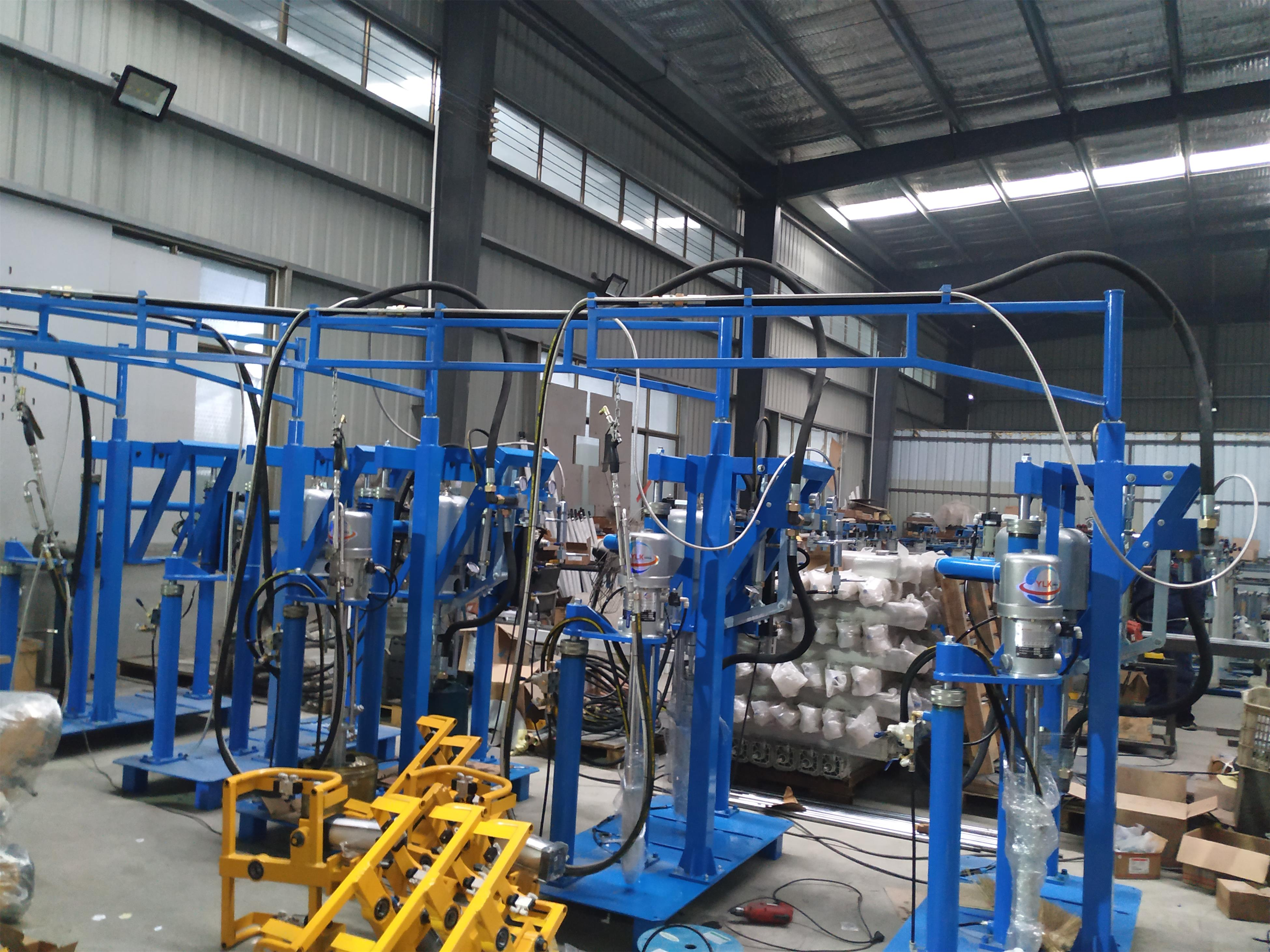 ST06 Korea Pump sealant spreading equipment