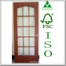 Different Design Swing/Sliding Open Wooden French Door