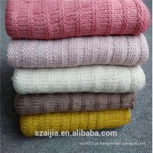 Moda senhoras acrílico colorido malha lenço
