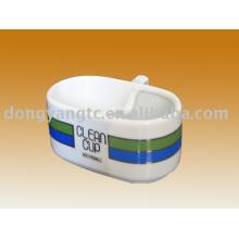 taza de helado de cerámica