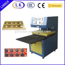 Stainless steel scrubber sealing machine
