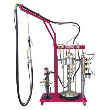 Extrudeuse de mastic pneumatique à deux composants