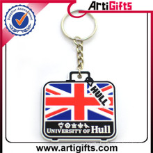 Promotion cheap ball keychain with disc dad