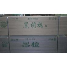 Ingeniería de madera de nogal / madera de nuez artificial