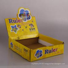 Custom cardboard perforated display paper box