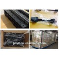 Intermodal container door lock for freight container shipping