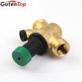 GutenTop haute qualité soupape de décharge de pression pour chauffe-eau solaire soupape de sécurité soupape de réduction de pression d'air