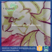 High quality OEM service Printed PET spunbond nonwoven fabric