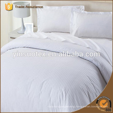 High Quality 100% Cotton Plain White Hotel Bed Sheets