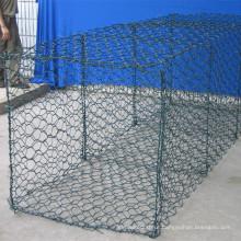 10 anos de Venda Profissional Barato PVC Revestido Caixa De Gabião Galvanizado