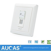 Factory RJ45 Singe Port Face Plate For Cable Solution In China