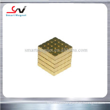 low price super strong different sizes neodymium gold magnet