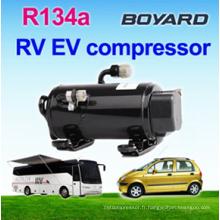 DC 12v / 24v climatiseur solaire pour climatisation portable pour voiture cabine a / c de camion-véhicule électrique