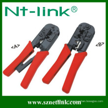 Tipo de catraca 4P + 6P + 8P ferramenta de crimpagem manual