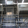 Double extuders 3 layers co-extrution PE film blowing machine for shopping bags